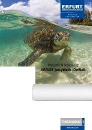 ERFURT-JuicyWalls Digitaldruck Wandverkleidungen
