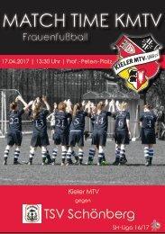 17.04.17 KMTV – TSV Schönberg