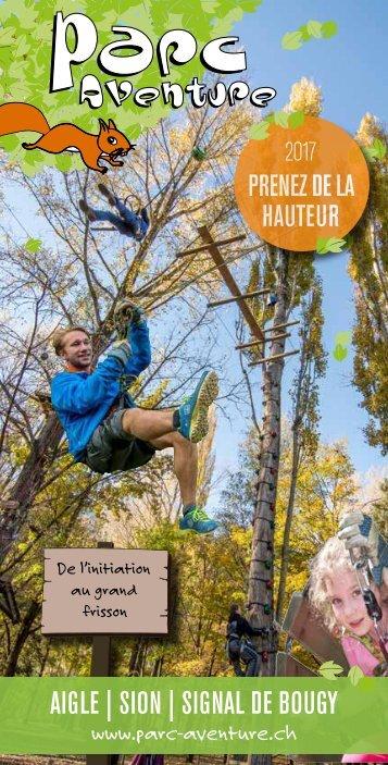 Parc Aventure ® - Brochure 2017