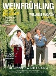 WELLNESS Magazin Special - Weinfrühling 2017