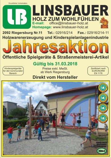 Linsbauer - Jahresaktion 2017