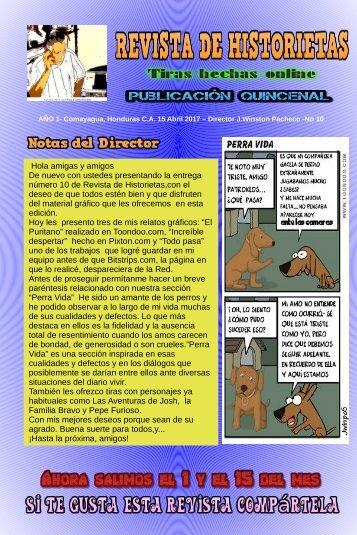 REVISTA DE HISTORIETAS No.10