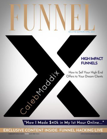 Funnel Magazine™ Second Edition