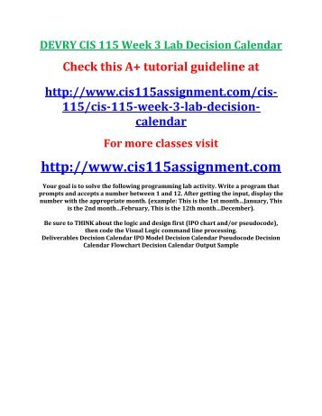 cis 115 Cis115 cis 115 cis/115 lab all weeks 2 3 4 5 6 7 solution - extutorialcom cis115 lab 2.