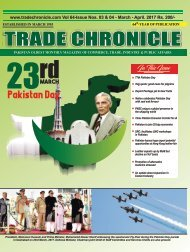 Trade Chronicle March - April 2017