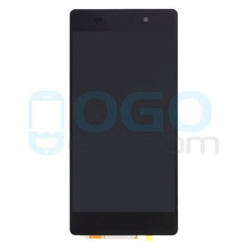 For Sony Xperia Z2 LCD & Digitizer Touch Screen Assembly Replacement – Black