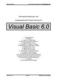 Visual Basic 6.0 - lehrer