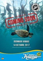Hannes Hawaii Tours - IM CM Hawaii 2017 ES
