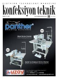 Konfeksiyon Teknik Dergisi Nisan 2017 Sayısı