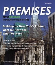 Building for New York's Future - School of Continuing and ...