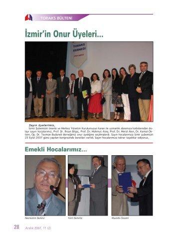 Toraks Bülteni - Aralık 2007,11(2)
