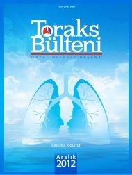 Toraks Bülteni - Aralık 2012