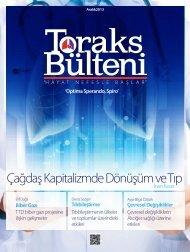 Toraks Bülteni - Aralık 2013