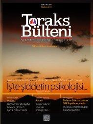 Toraks Bülteni - Haziran 2013