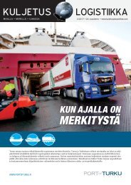 Kuljetus & Logistiikka 2 / 2017