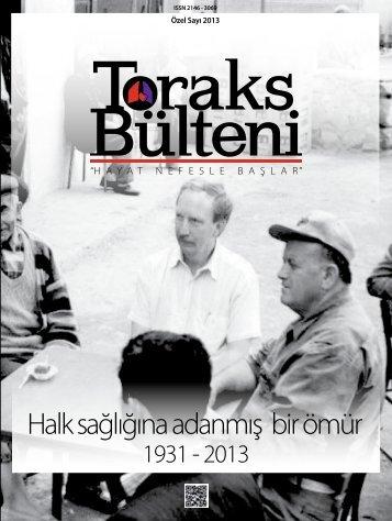 Toraks Bülteni - Özel Sayı 2013