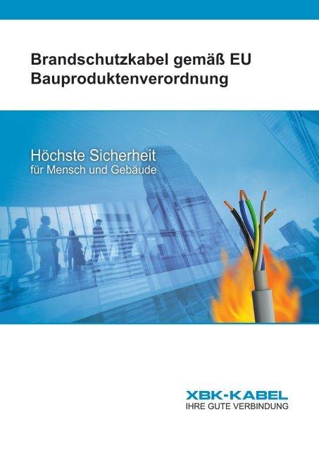 Brandschutz gemäß EU BauPVO