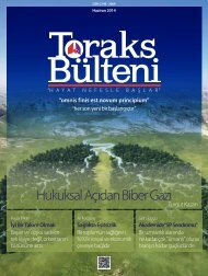 Toraks Bülteni Haziran 2014
