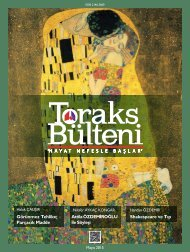 Toraks Bülteni Mayıs 2015