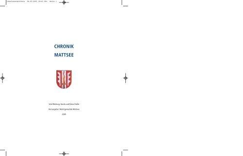 Singles Mattsee, Kontaktanzeigen aus Mattsee bei