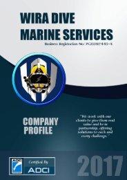 Wira Dive Company Profile 2017