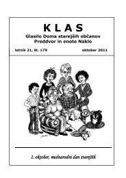 KLAS  - oktober 2011