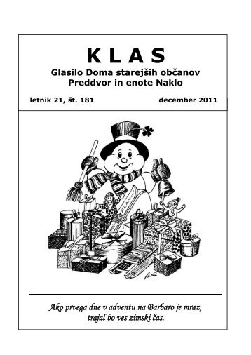 KLAS - december 2011