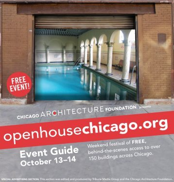 Event Guide - Chicago Architecture Foundation