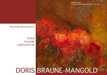 flyer downloaden - Doris Braune-Mangold