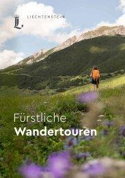 Wanderfuehrer Liechtenstein