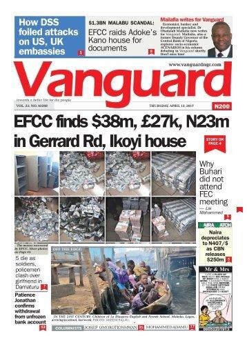 13042017 - EFCC finds m, £27k, N23m in Gerrard Rd, Ikoyi house