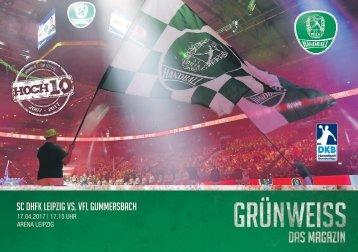 GRÜNWEISS – das Magazin der DHfK-Handballer – Heft 14 – Saison 2016/17