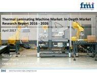 Thermal Laminating Machine Market