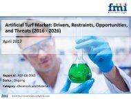 Artificial Turf Market : Key Players, Growth, Analysis, 2016 - 2026