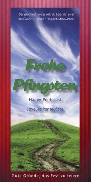 Frohe Pfingsten :: Gute Gründe, das Fest zu feiern