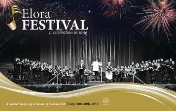 Elora Festival Brochure 2017