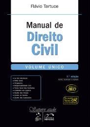Manual de Direito Civil - Flávio Tartuce - 7ª Ed. - 2017