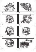 Makita ASPIRATORE HYBRID AC/DC 220V - 18Vx2 - DVC860LZ - Manuale Istruzioni - Page 5