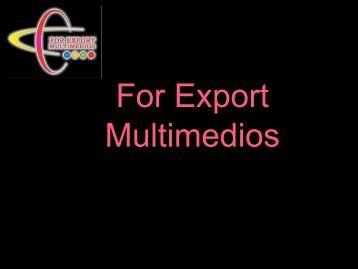 Apresentação de Negócios Empresa Exportadores