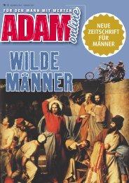 Adam online Nr. 01 Vorschau