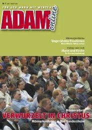 Adam online Nr. 03 Vorschau