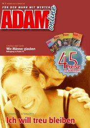 Adam online Nr. 05 Vorschau