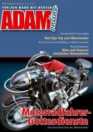 Adam online Nr. 08 Vorschau