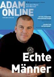 Adam online Nr. 33 Vorschau