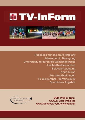 TVW InForm 2016-06