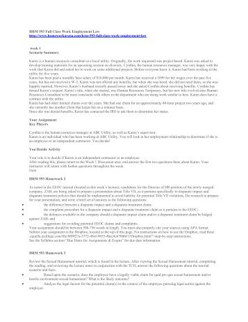 hrm 590 final Hrm 590 human resource management final exam (tco a) many people still believe that companies care little about human resource management compared to other revenue-generating departments.