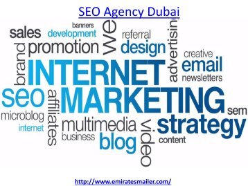 How to get the best seo agency dubai