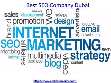 How to get the best seo company Dubai