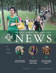 Concordia Hanoi News April 2017