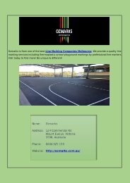 Line Marking Companies Melbourne